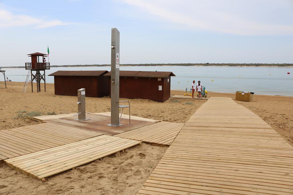 Imagen de la Playa de San Miguel de Cartaya.