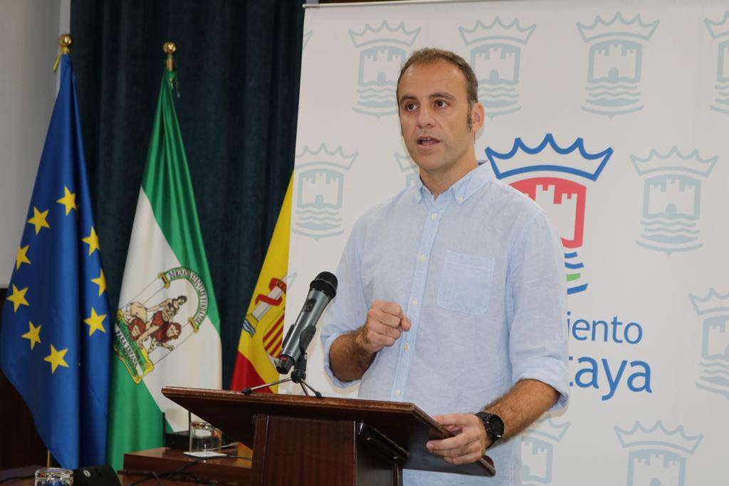 El Segundo Teniente de Alcalde del Ayuntamiento de Cartaya, Israel Medina, esboza las líneas de actuación de sus concejalías.