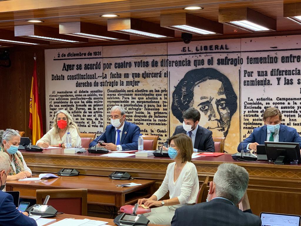 La alcaldesa de Cartaya toma posesión como Vicepresidenta Primera de la Comisión de Entidades Locales del Senado