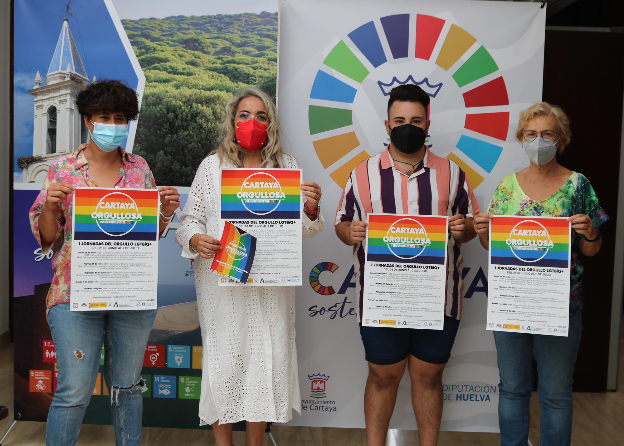 Cartaya celebra por primera vez el Día del Orgullo con una decena de actividades durante toda la semana