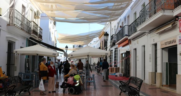 Las autoridades sanitarias decretan el cierre perimetral de Cartaya, según comunica el Ayuntamiento.