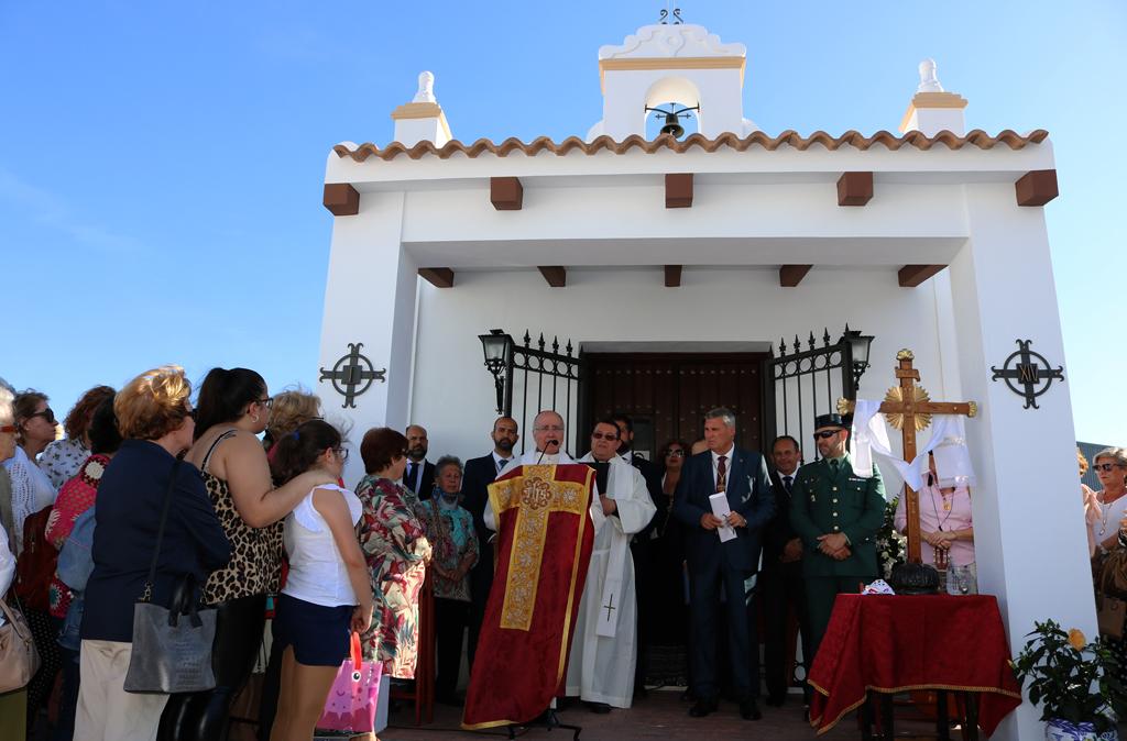 Apertura de la ermita de la Cruz de los Milagros tras su restauración.