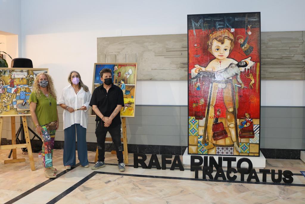 La exposición de la obra de Rafa Pinto, en el Centro Cultural, abre la programación de verano en Cartaya, El Rompido y Nuevo Portil