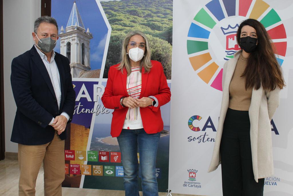 El Ayuntamiento y Carrefour Cartaya abordan nuevas líneas de colaboración