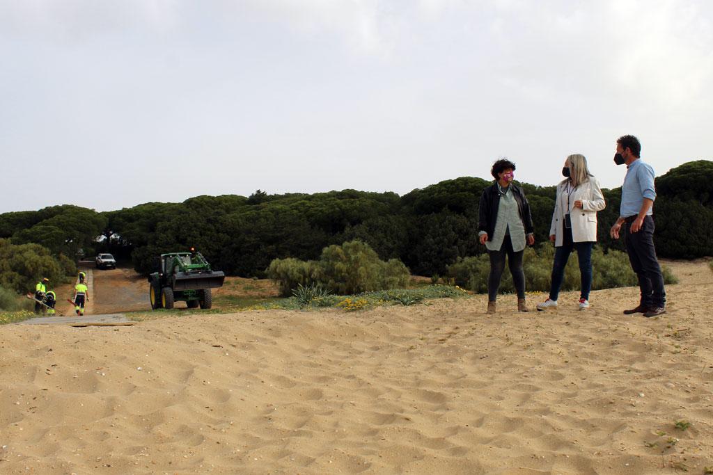 Las playas de El Rompido y Nuevo Portil, listas para Semana Santa.