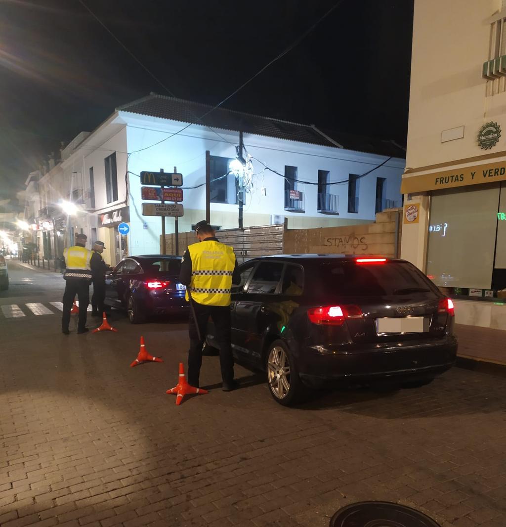 La Policía Local continúa vigilando el cumplimiento de la normativa frente al COVID e interpone 20 denuncias
