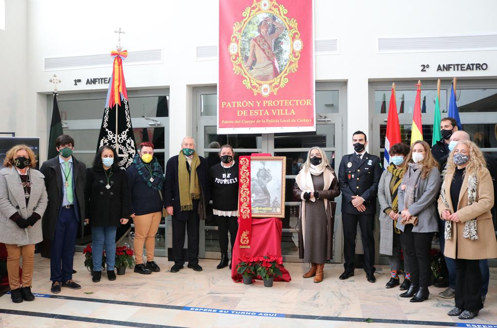 La Hermandad y el Ayuntamiento organizan una semana de actos en honor a San Sebastián, siguiendo las medidas de seguridad sanitaria impuestas por la pandemia.