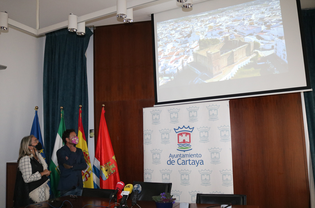 Cartaya estrena video de promoción turística centrado en el casco histórico de la localidad.